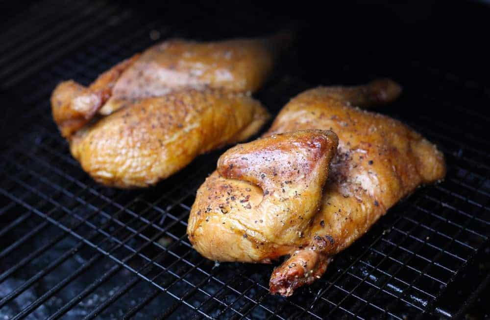Dry-Brined Smoked Chicken