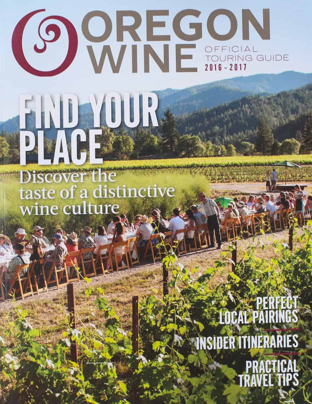 Oregon Wine Official Touring Guide 2016-2017