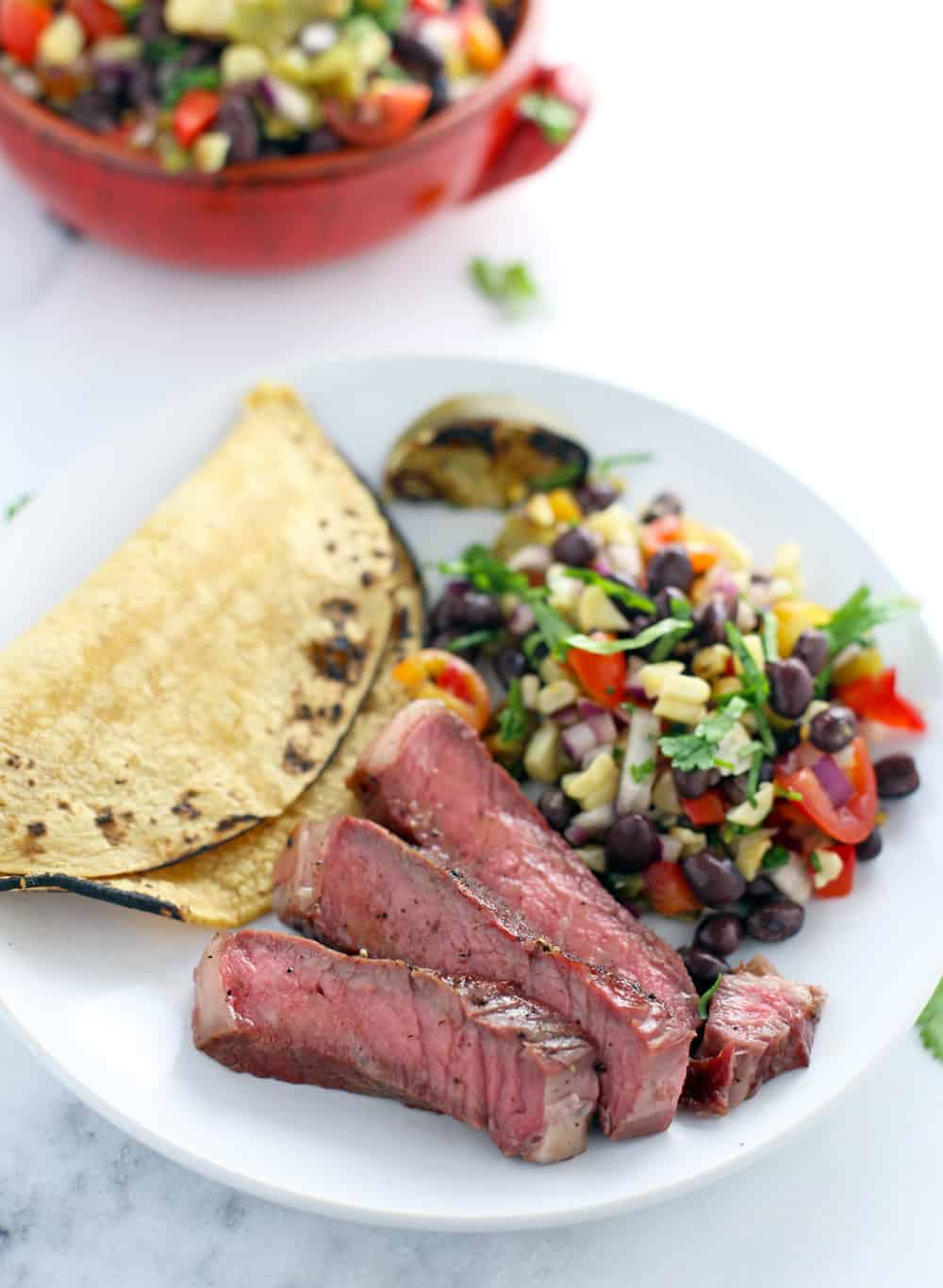 Reverse Sear Steak Tacos. A great way to stretch your dollar with an expensive cut of meat like a great ribeye.