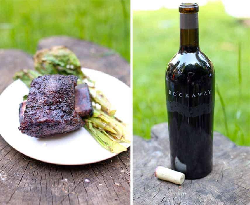Smoked Beef Short Ribs and Wine Pairing