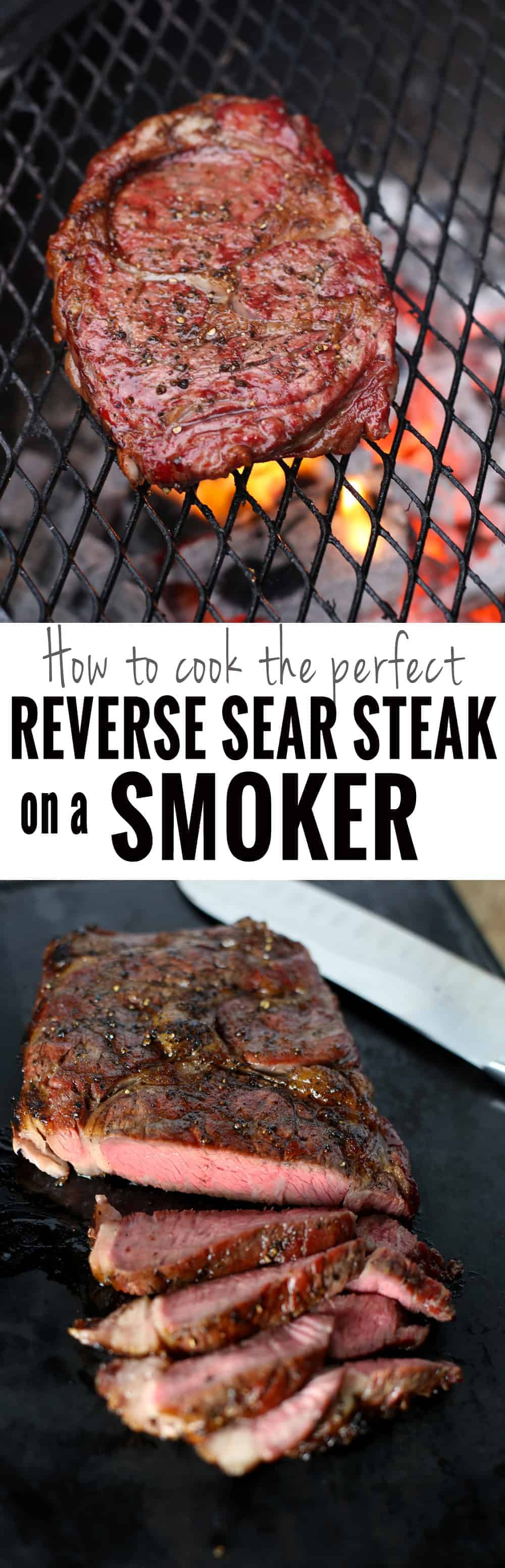 The Perfect Reverse Sear Steak using your Smoker. Using this method, you can get the perfect medium rare steak at home using your smoker, then finishing on a hot grill