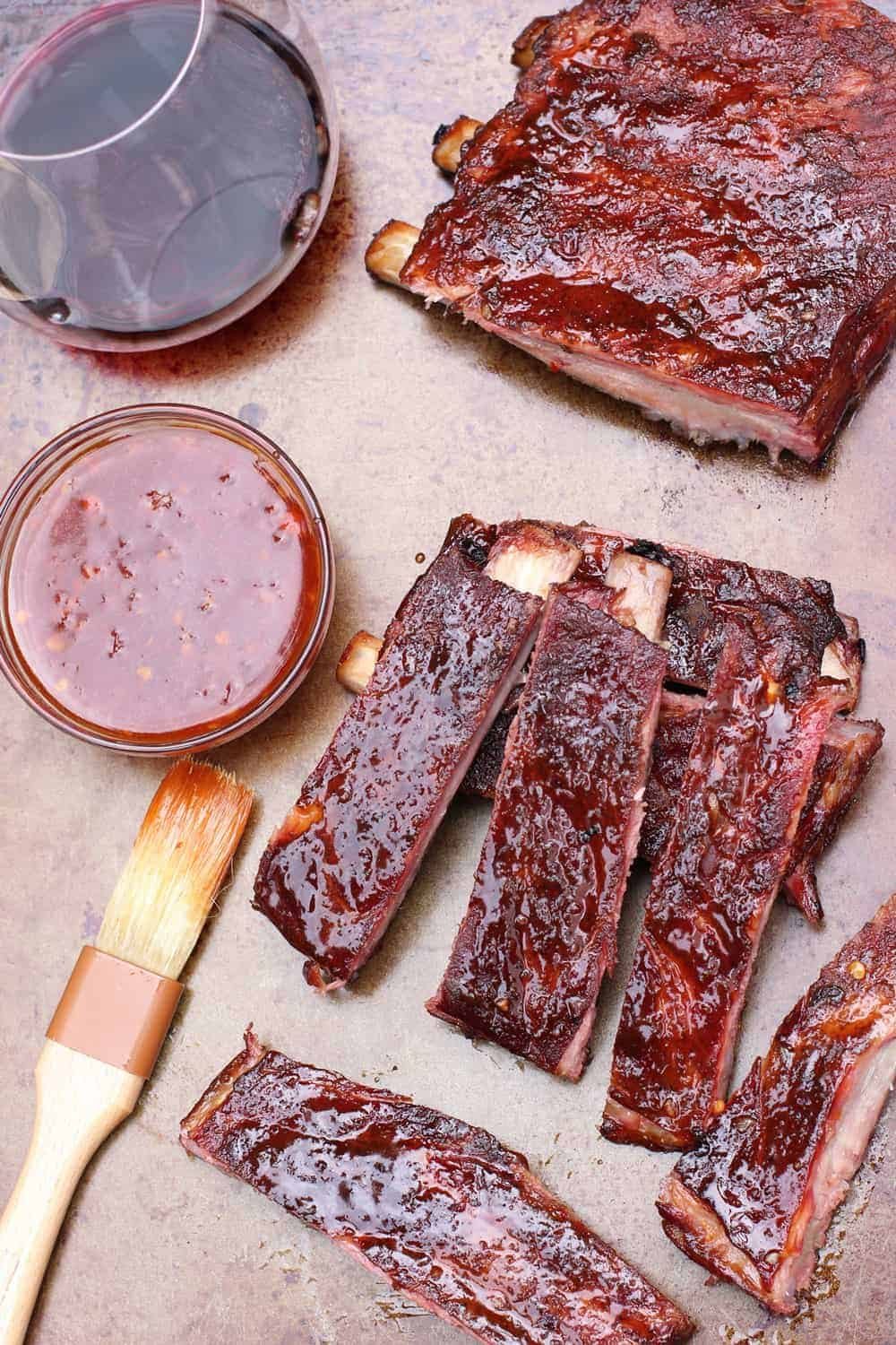 Asian Spiced Ribs and Wine Pairing
