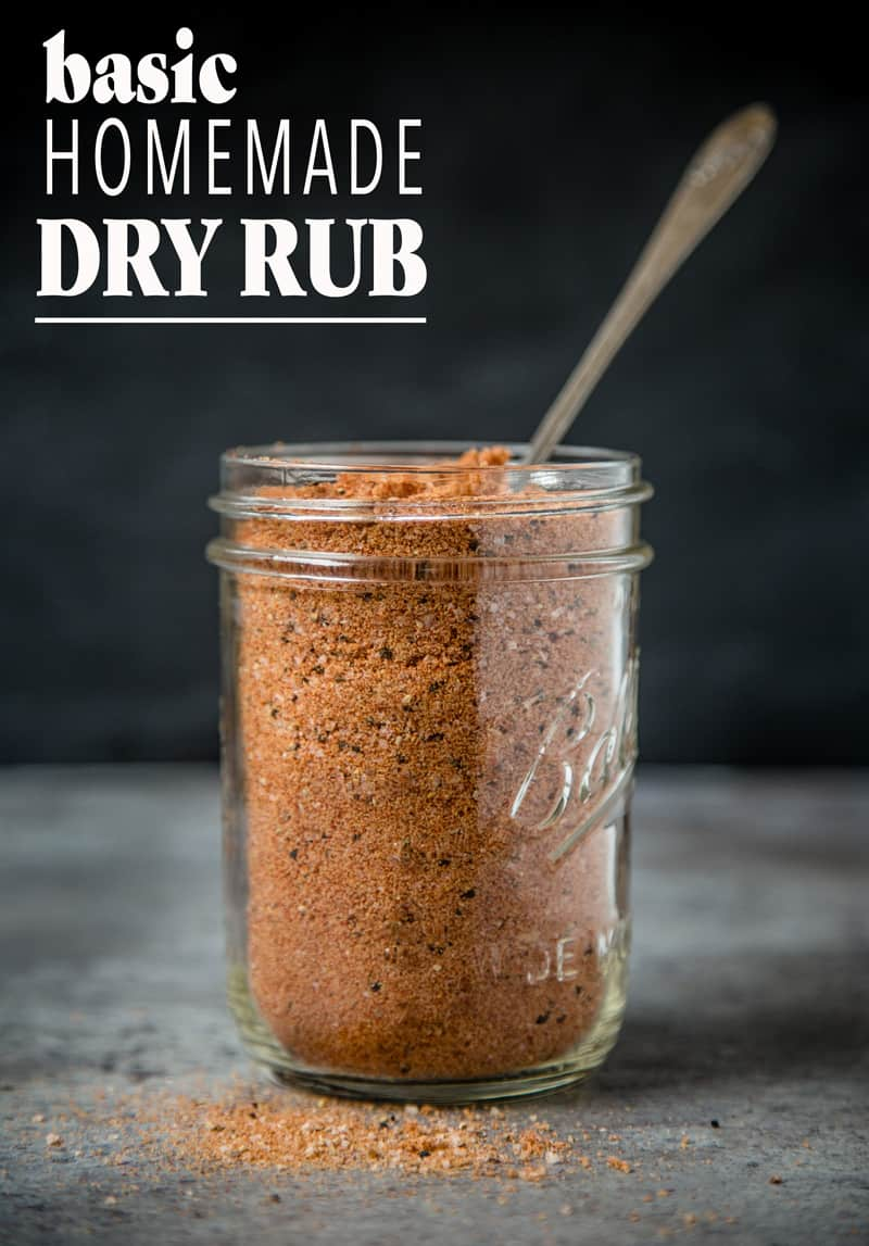 Basic homemade dry rub