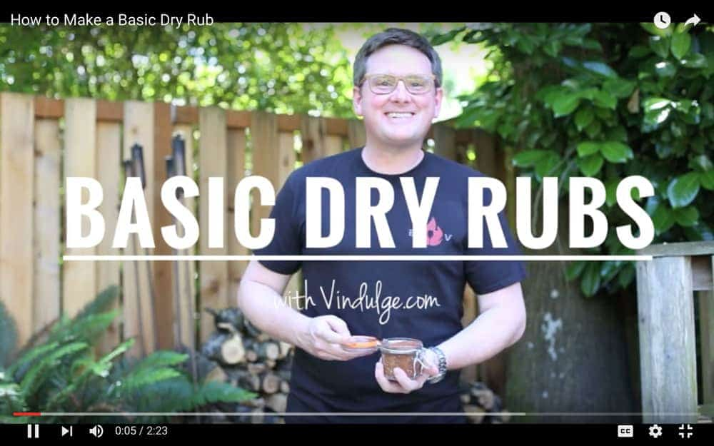 Basic Dry Rub Recipe Video