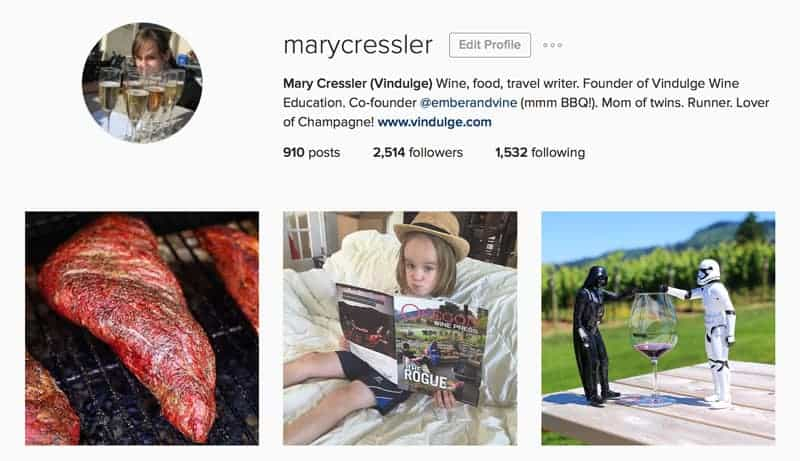 Instagram @marycressler