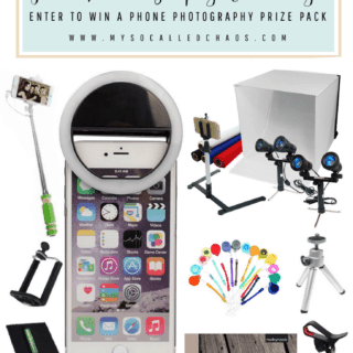 Photography Giveaway: Win a Phone Photography Prize Pack!
