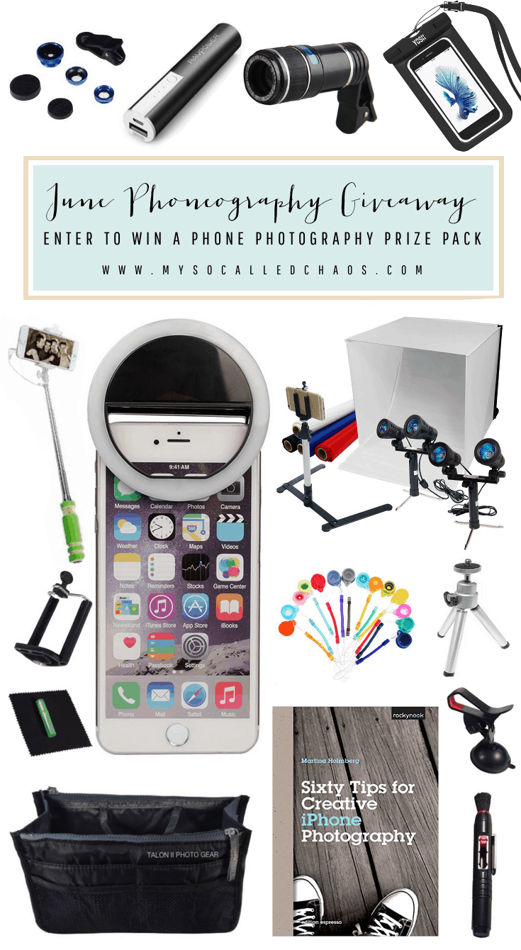 June Phoneogrphy Giveaway
