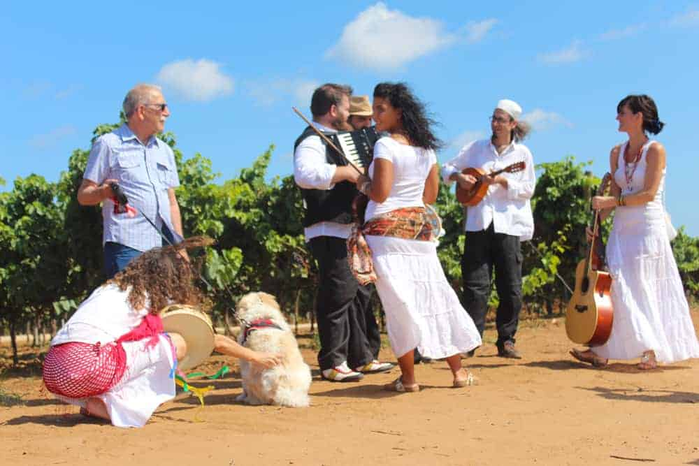 Celebration for Women's Harvest in Puglia