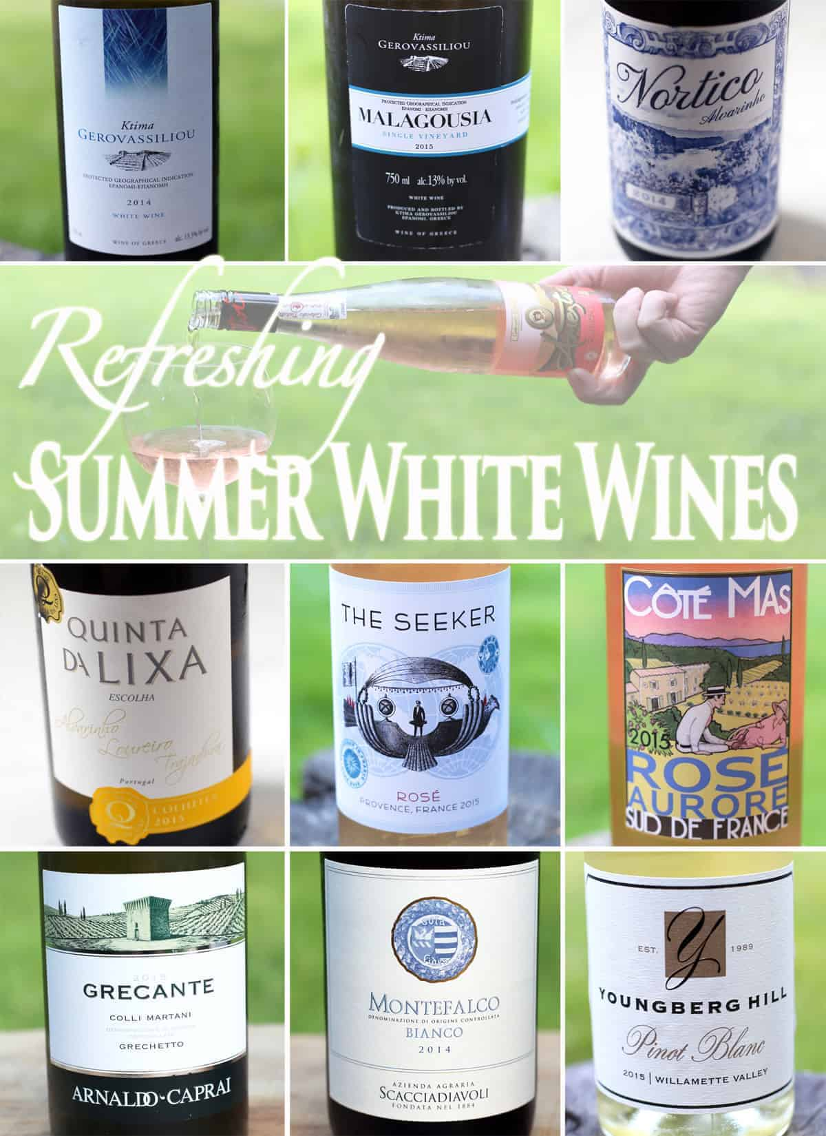 Refreshing Summer White Wines
