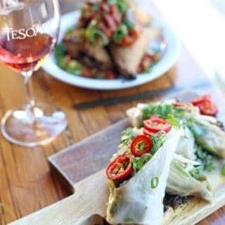 Shut Up and Eat Your Vegetables at TeSóAria Winery — Vegan Thursdays!