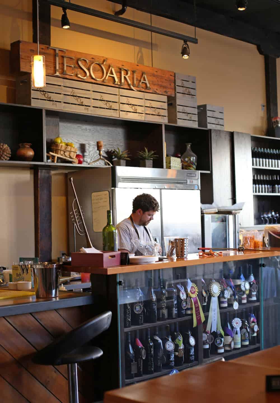 TeSóAria Portland Tasting Room, Portland Oregon