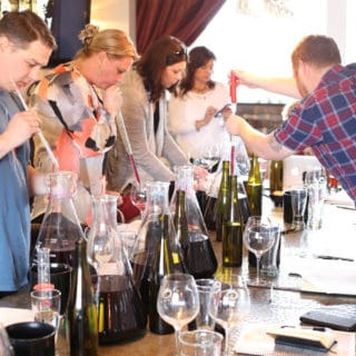 The Brooks Blending Experience Photo Essay & New Print Article on Oregon Wine Press