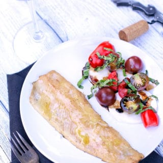 Easy Smoked Trout Fillet and Wine Pairing