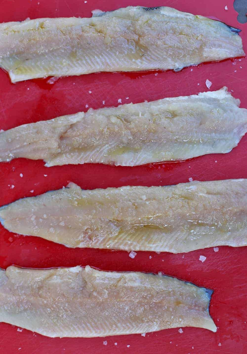 How to fillet a whole Trout