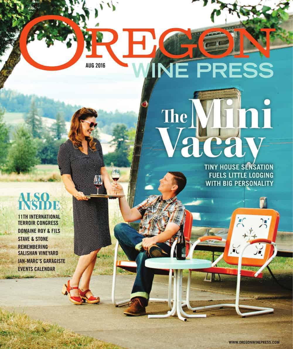 Oregon Wine Press August 2016 Cover