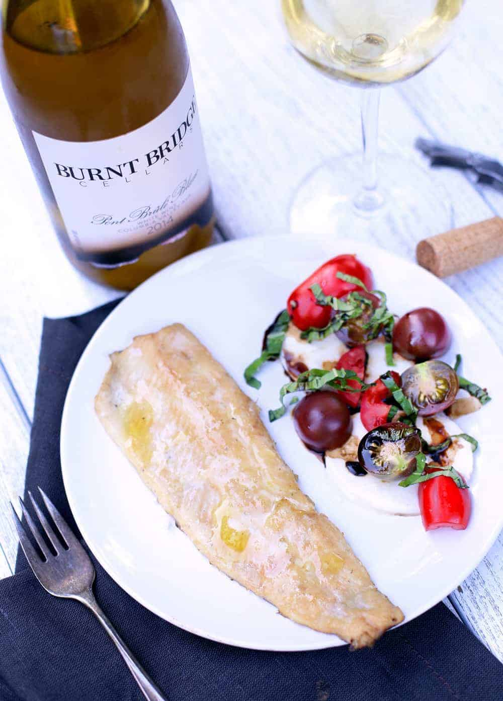 Smoked Trout and Wine Pairing