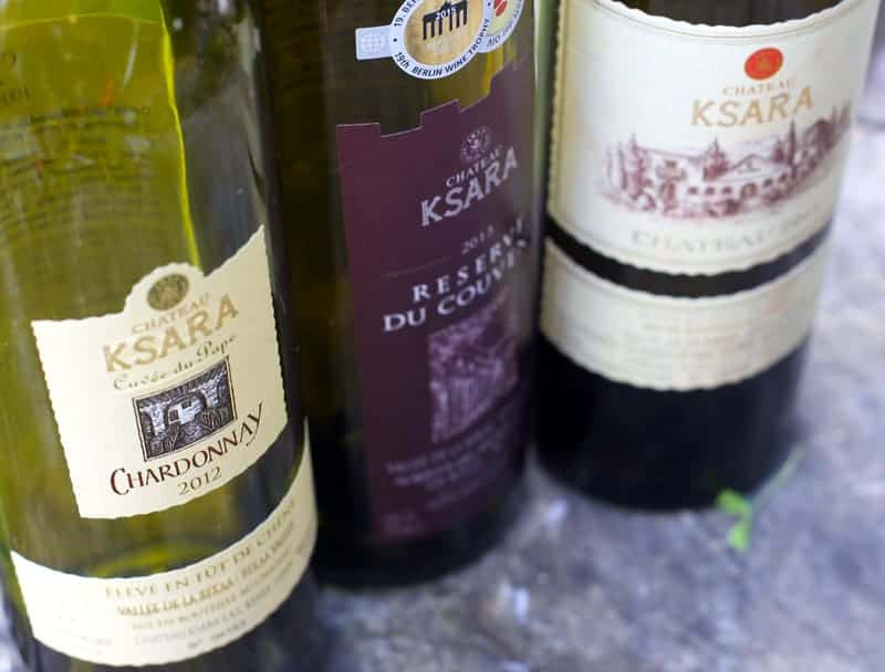 Chateau Ksara, Lebanese Wines