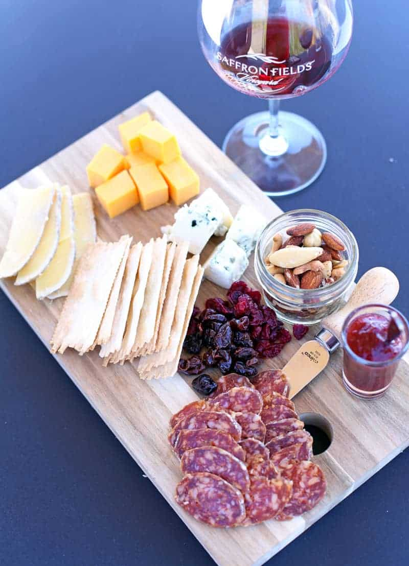 Cheese-Plate-at-Saffron-Fields
