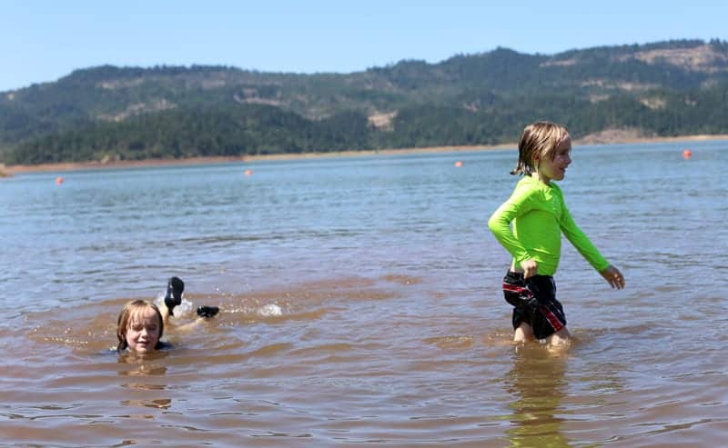 Swimming-in-the-Lake