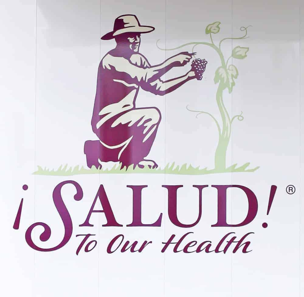 ¡Salud! Logo