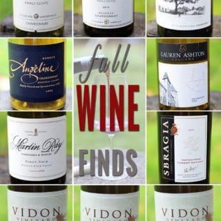 Weekend Wine Love – Fall Wine Finds
