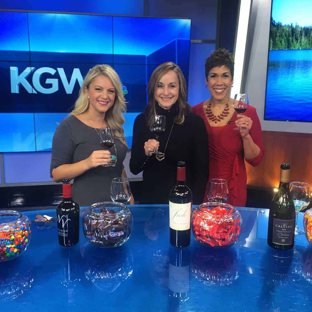 Halloween Candy and Wine Pairing TV Segment on KGW
