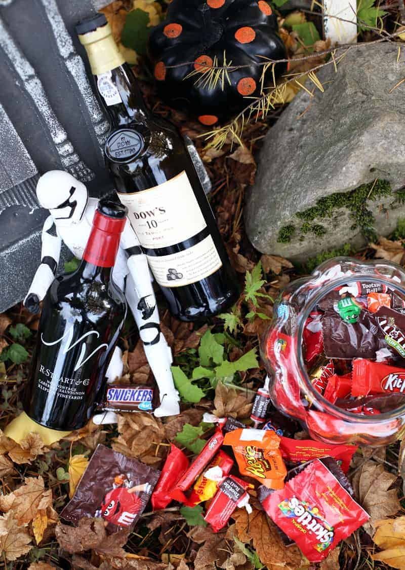 Pairing Wine with Halloween Candy