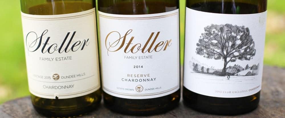 Stoller Family Estate Chardonnays