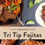 Tri Tip Beef Fajita pin