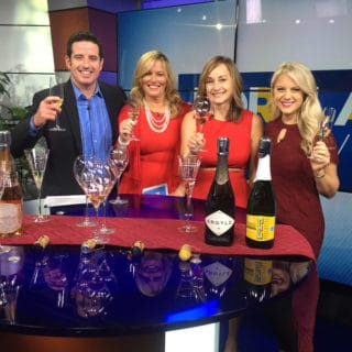 Oregon Sparkling Wines for the Holidays on KGW Portland Today