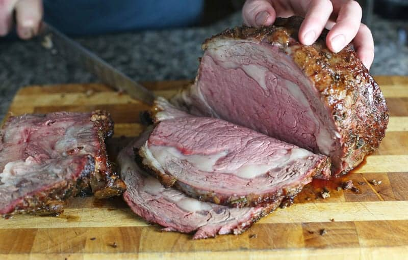 How to Slice a Prime Rib