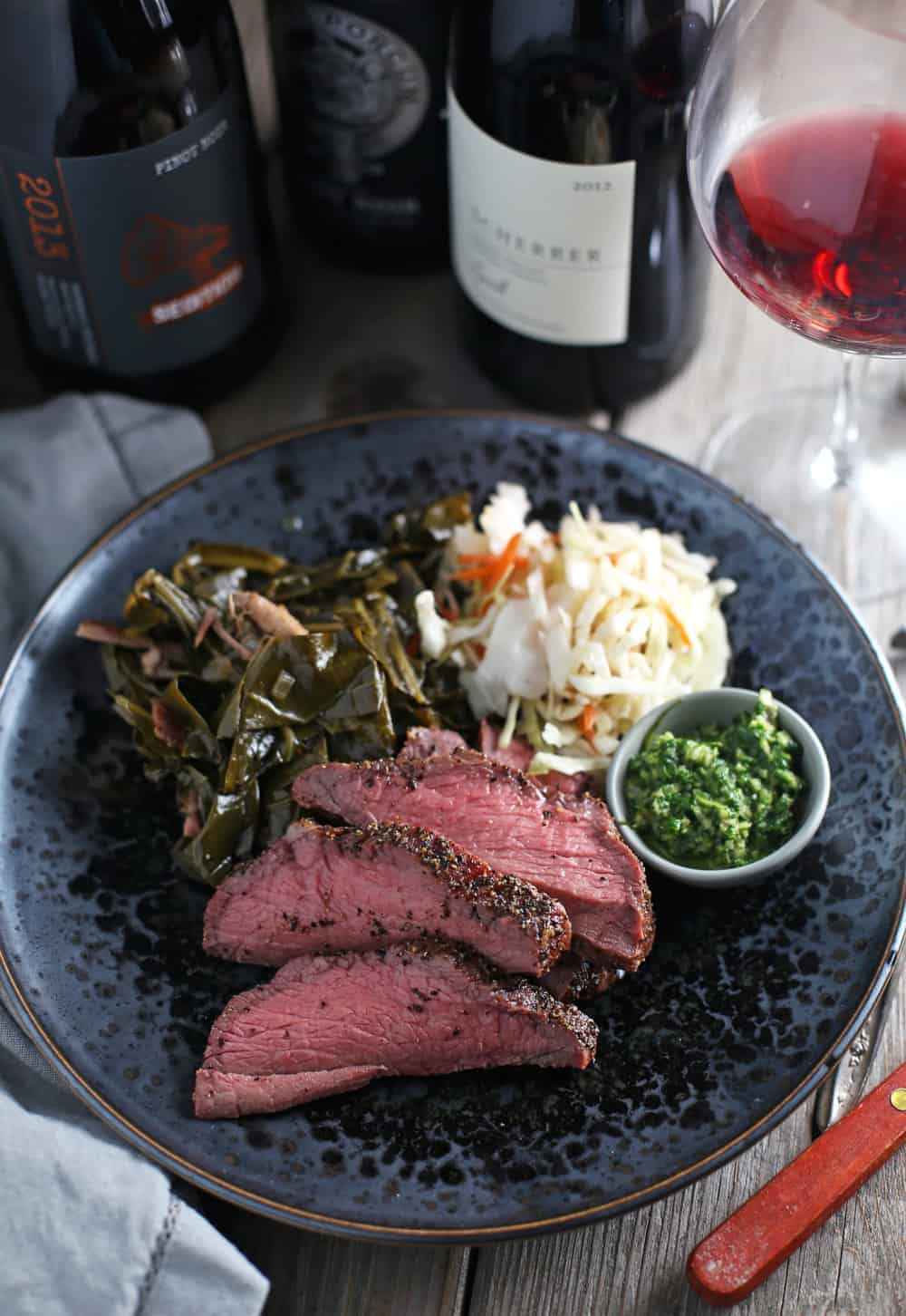 Pairing Wine with Smoked Tri Tip