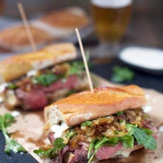 Prime Rib Steak Sandwiches