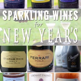 Goodbye 2016!  Sparkling Wines to Welcome the New Year