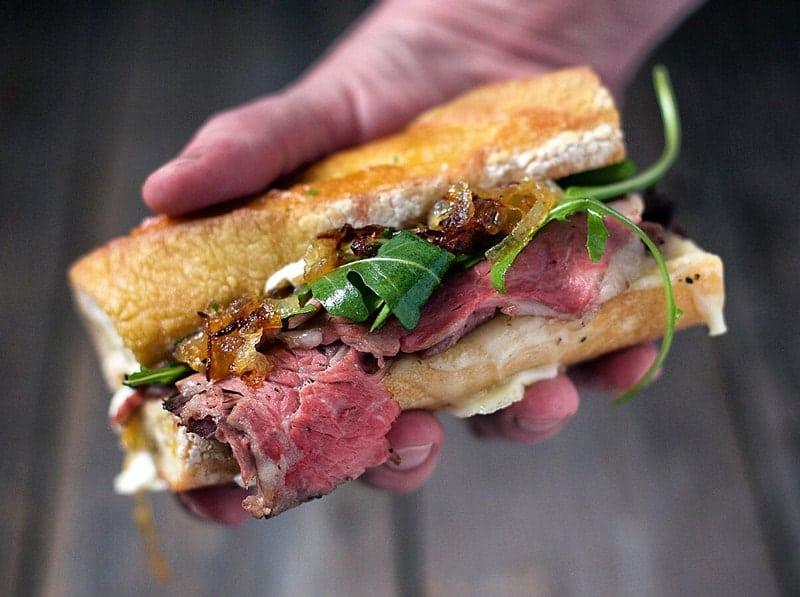 The Best Prime Rib Steak Sandwiches