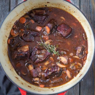 Smoked Beef Short Rib Stew