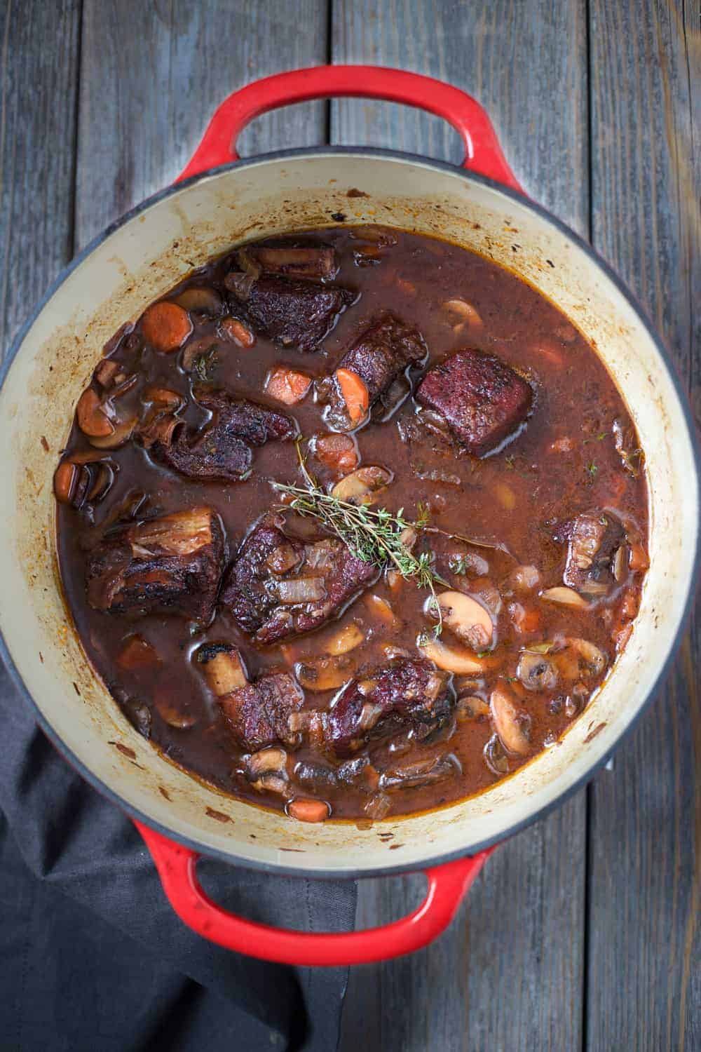 Smoked Beef Short Rib Stew. How to smoke short ribs and incorporate them into an incredible, rich, stew.