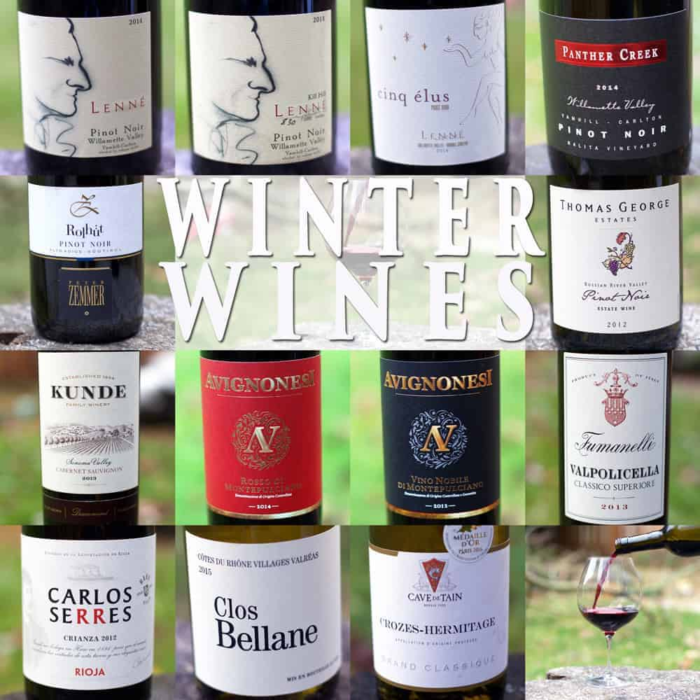 Winter Wines for 2017 from Vindulge.com