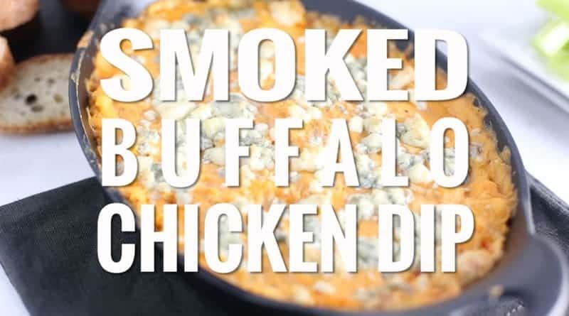 Smoked buffalo chicken recipe