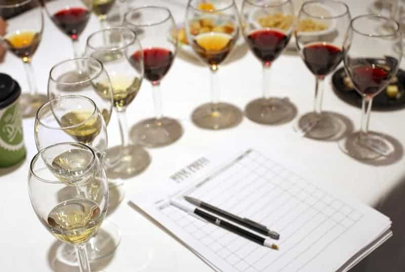 Judging the Idaho Wine Competition