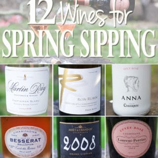 12 Wines for Spring Sipping