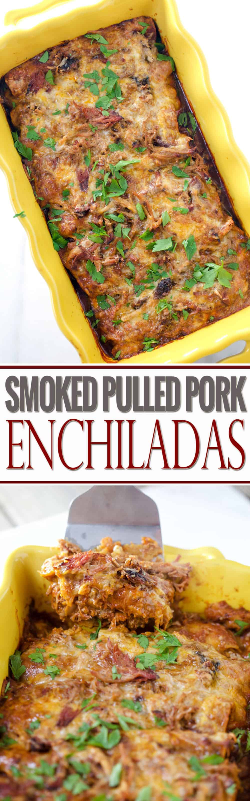 Smoked Pulled Pork Enchiladas and other awesome Cindo de Mayo recipes for your smoker or grill