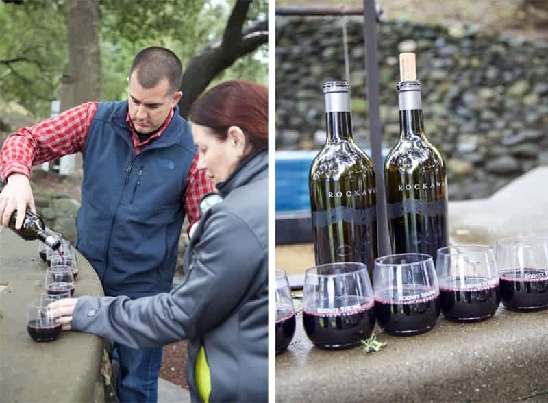 Tasting Wine at Rodney Strong