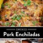 Pulled Pork Enchiladas Pin