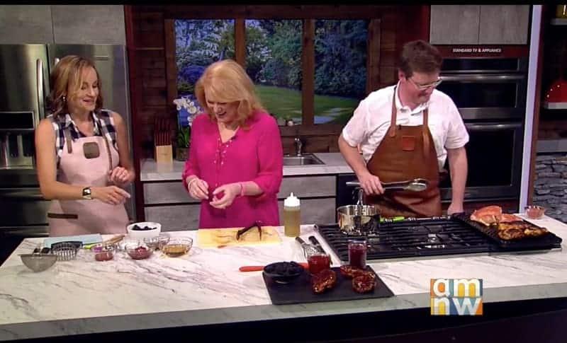 Live Cooking Demonstration on AM Northwest
