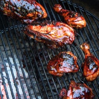 Grilled Chicken with Blackberry BBQ Sauce — Recipe and video on AM Northwest