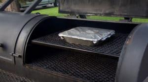 Short Ribs Braising in an Aluminum Tray
