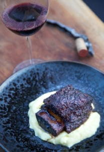 Smoked Beef Short Ribs and Wine Pairing-