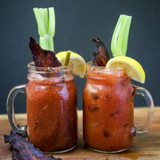 Smoked Bloody Mary with Smoked Bacon (the Video)
