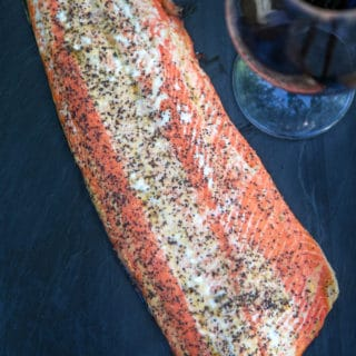 Easy and Tender Smoked Salmon Fillet (recipe and video)